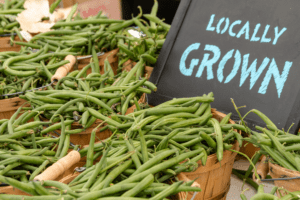 Locally Grown Vegetables